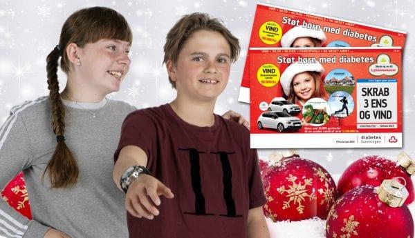 Tjen penge til en ekstra julegave, mens du støtter børn med diabetes