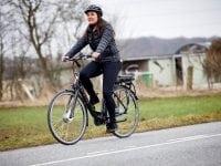 I takt med de mørke måneder melder deres ankomst, skulle man tro, at roskildenserne ville fravælge cyklen og ty til bilen eller bussen. Foto: PR.