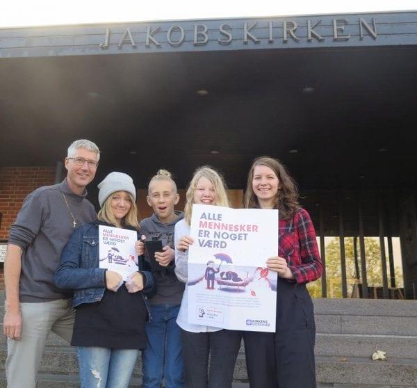 Indsamling til hjemløse i Roskilde