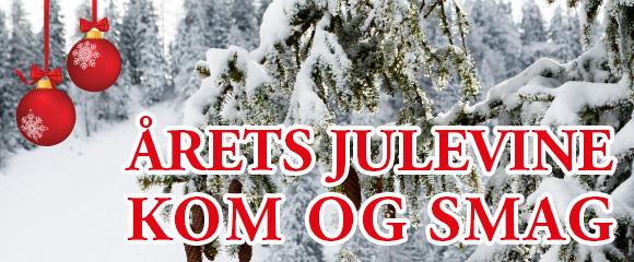 Vinsmagning på julevine fra Holte Vinlager