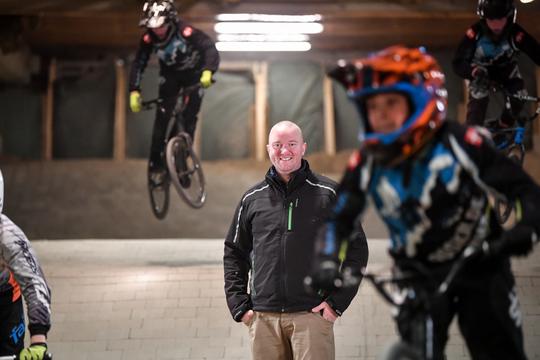 Anders Scheibel fra Roskilde BMX-klub i kapløb om 75.000 kroner