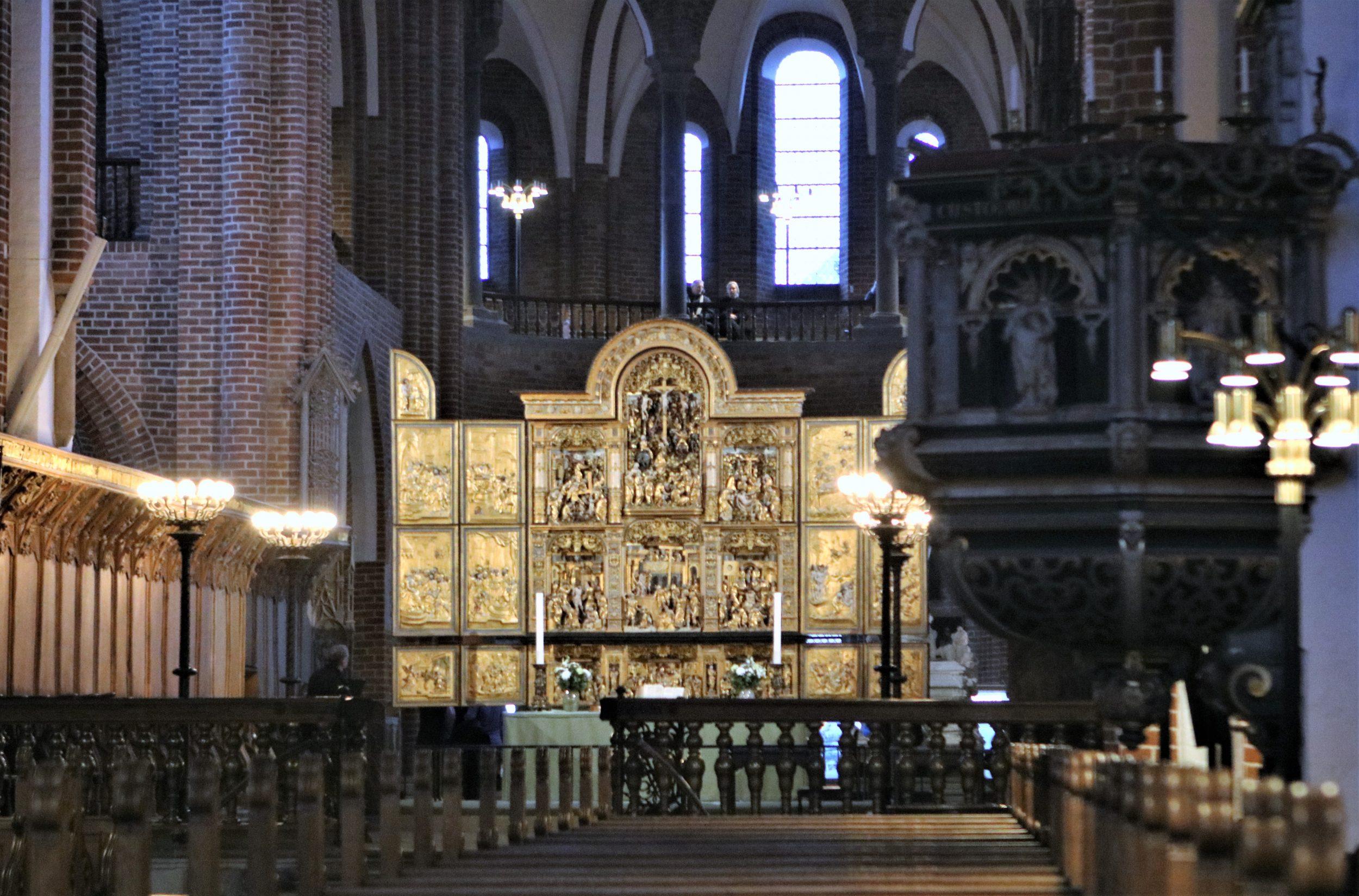 Så åbnede Roskilde Domkirke endelig igen
