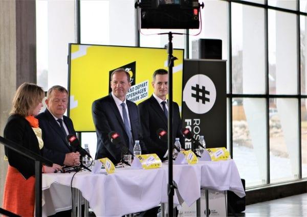 Den gule førertrøje kommer til Roskilde