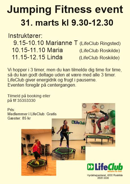 Jumping Fitness event i LifeClub