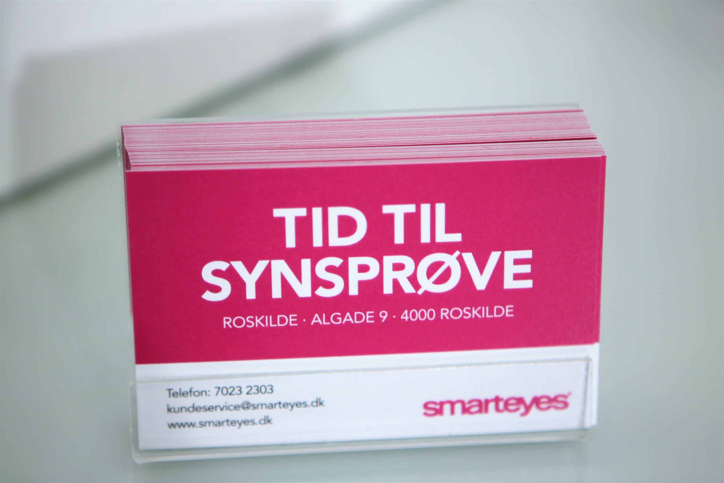 Er du den nye salgsassistentelev i Smarteyes Roskilde?