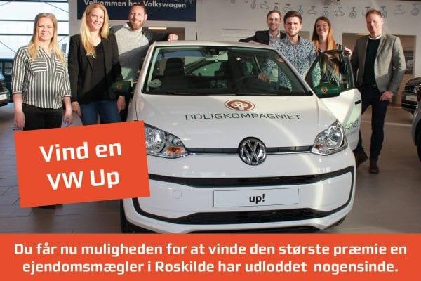 Bestil en salgsvurdering hos Boligkompagniet, og deltag i konkurrencen om en bil