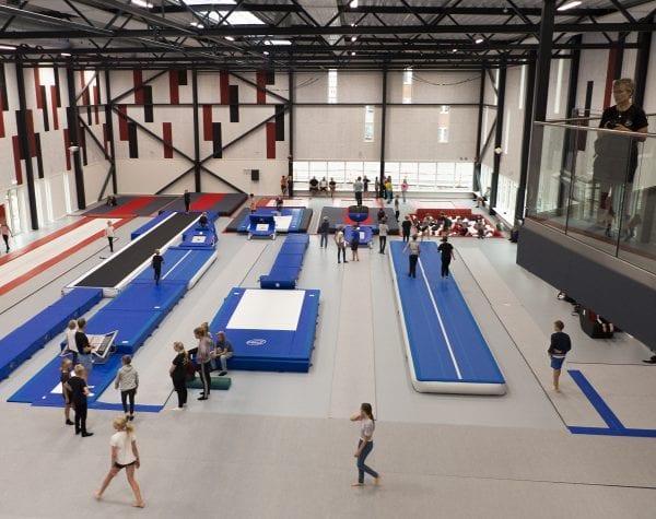 Kommunen kommer for alvor på gymnastikkens landkort