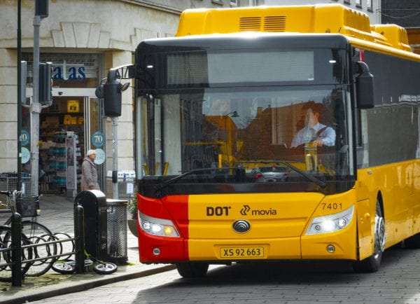 Indvielsen af el-busser i Roskilde