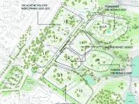 Det er områderne I5 og I7, der nu får en lokalplan. Illustration: Roskilde Kommune.