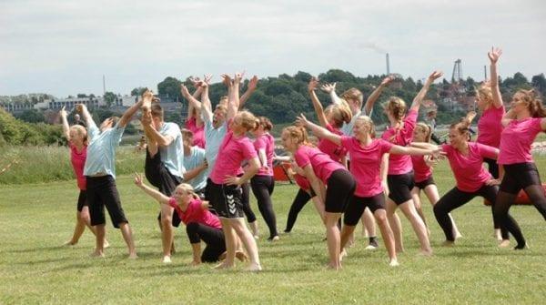 2000 gymnaster melder klar til opvisning ved Roskilde Fjord