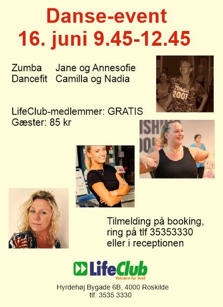 Danse-event i LifeClub