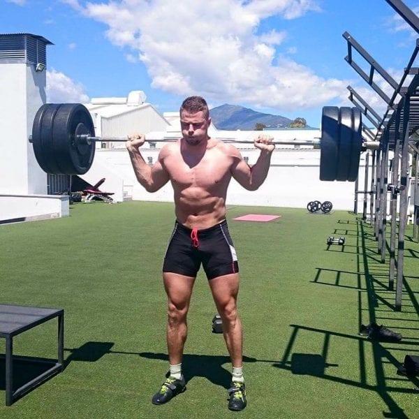 Squat Day m. Thomas Dybdahl hos Powerhealth