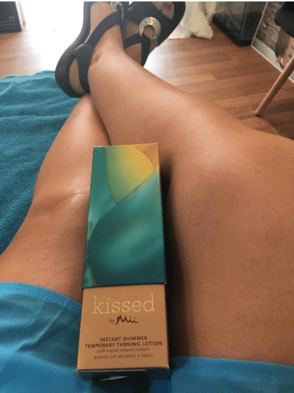 Få smukke brune ben med det samme
