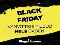 Black Friday hos Kings & Queens