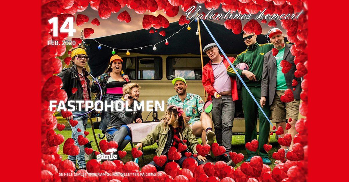Fastpoholmen på Gimle - Valentines Koncert //Support: Bjergtaget