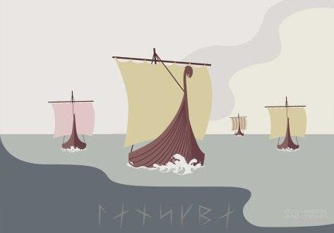 Vikinge Plakater – Nordisk Minimalisme