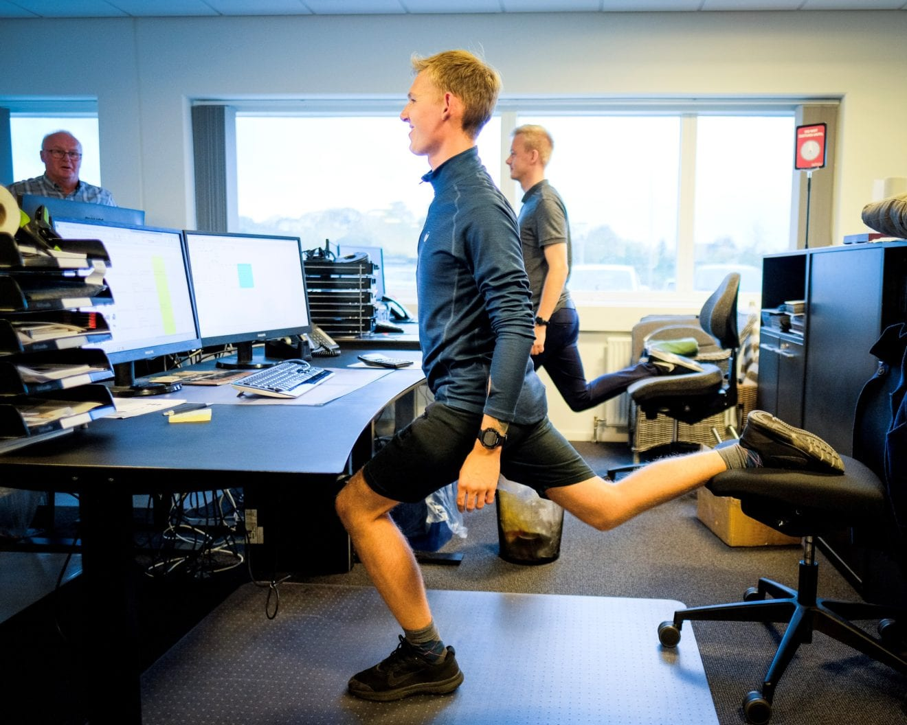 Firmaidrætten får flere og flere danskere til at dyrke kollegamotion