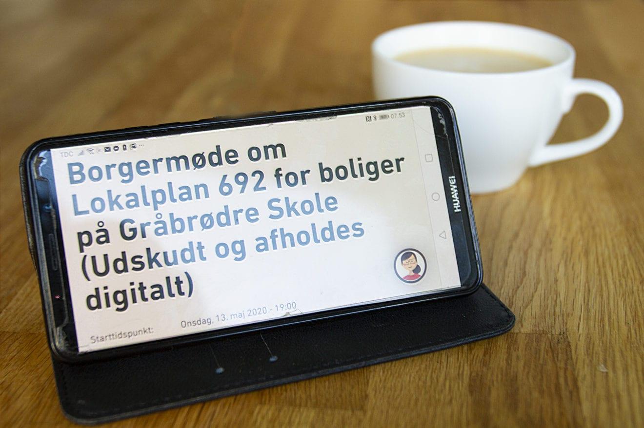 Borgermøder bliver digitale i en periode