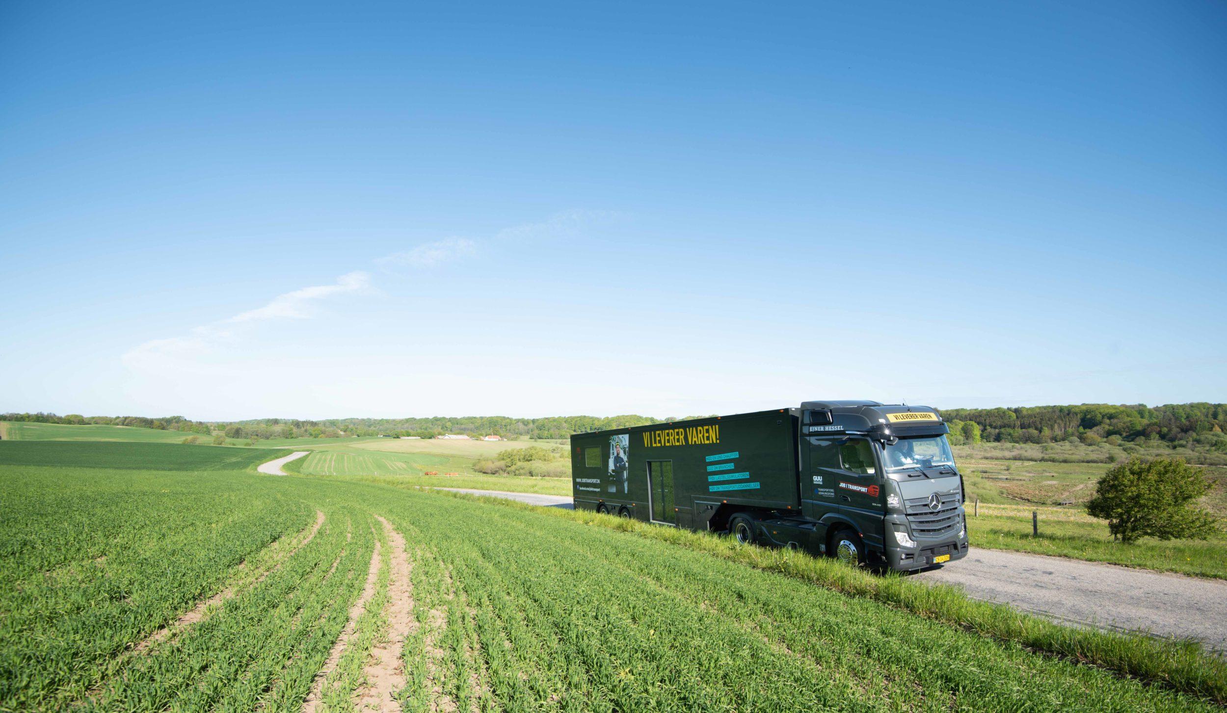 Populær kæmpe-truck på Danmarksturné besøger Roskilde