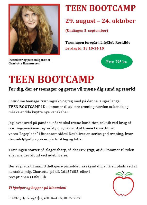 Teen- Bootcamp i LifeClub