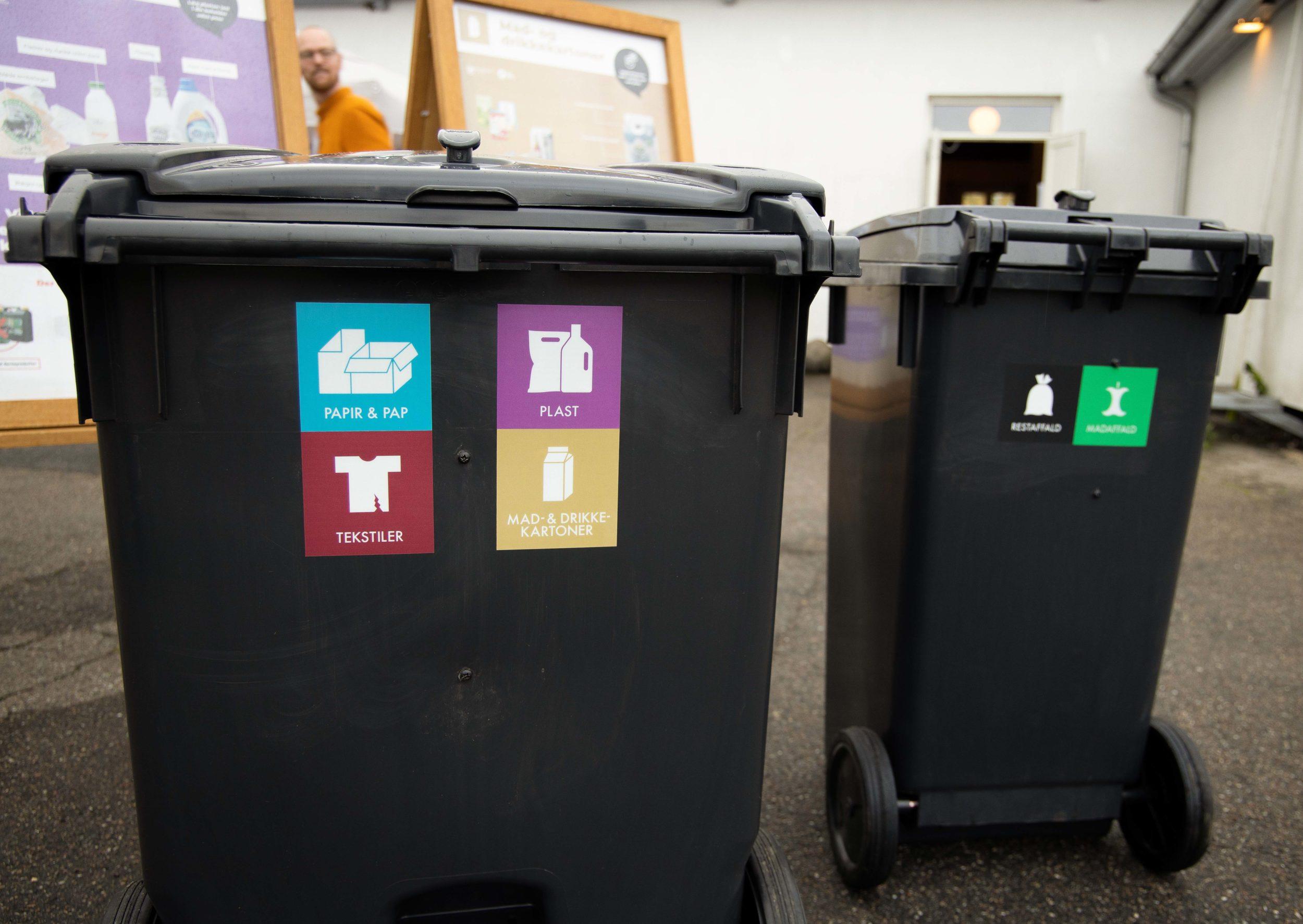 Gundsømagle tester affaldssortering