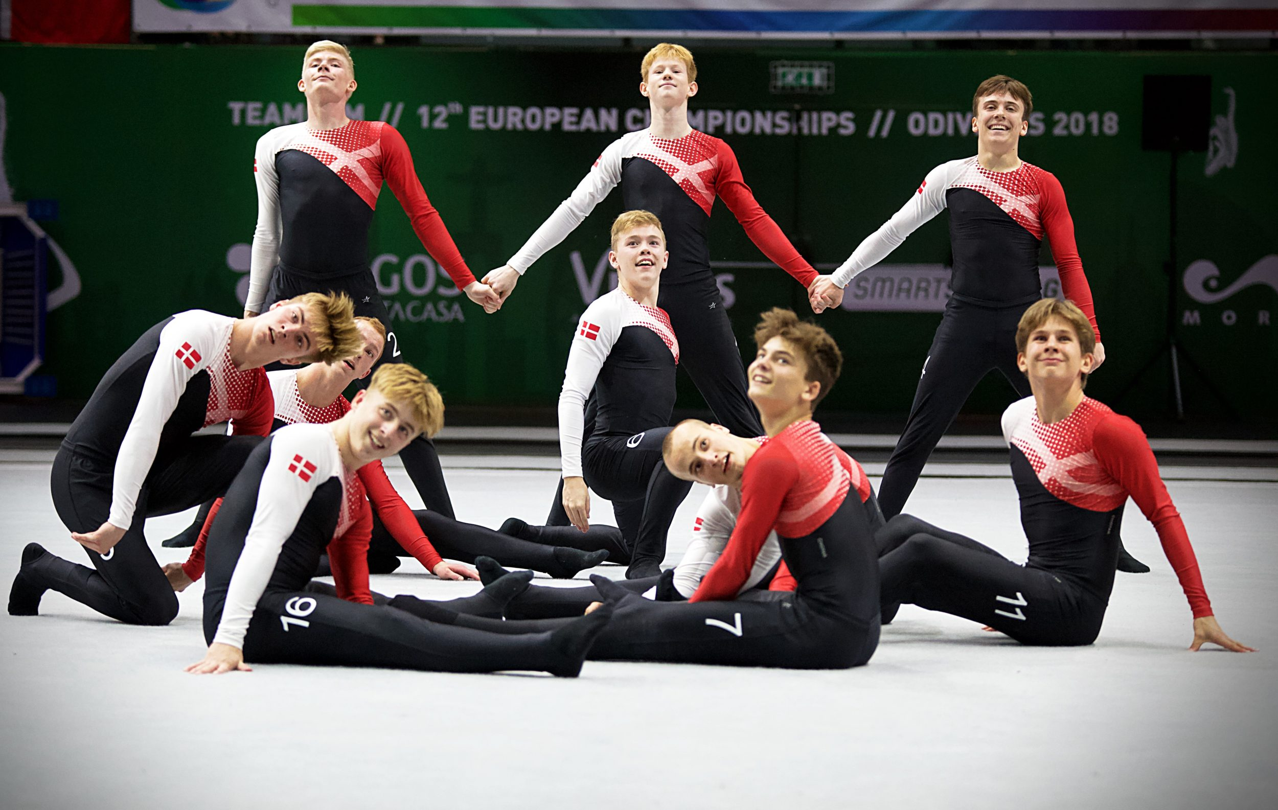 Fire gymnaster fra Roskilde udtaget til EM i TeamGym 2021