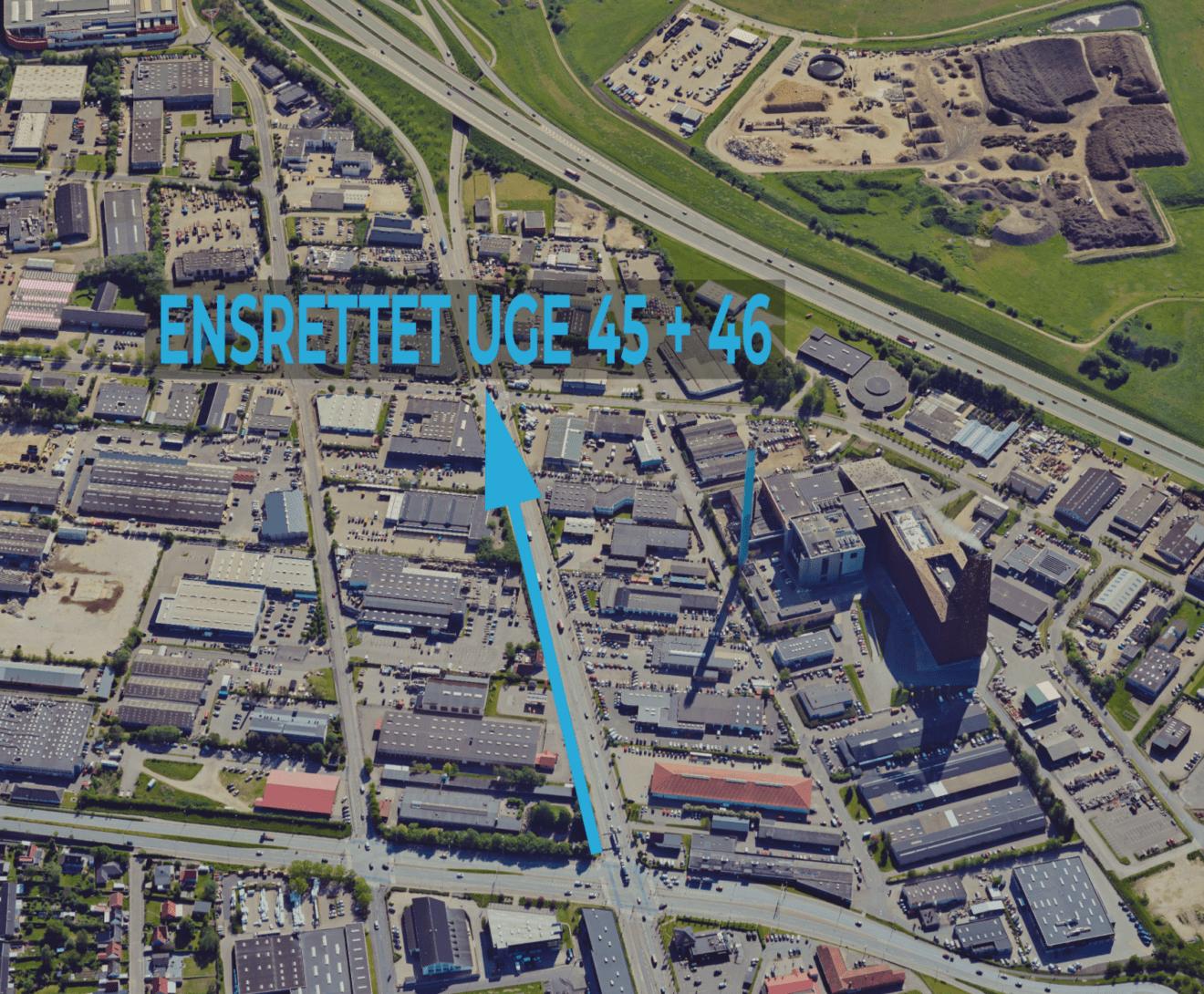 Københavnsvej bliver ensrettet og frakørsel 10 spærret i 14 dage