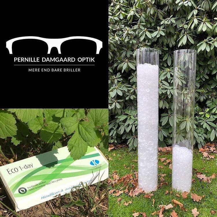 Spar på miljøet - vælg miljørigtige kontaktlinser!