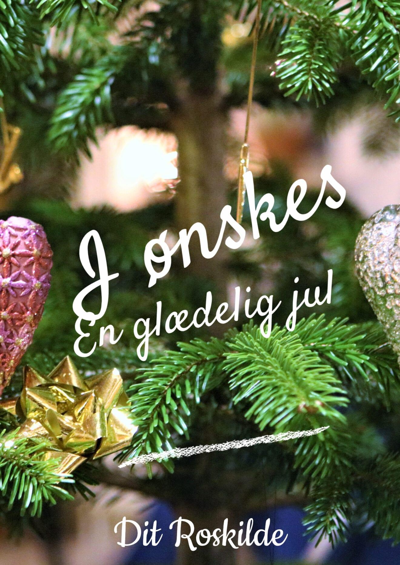 Dit Roskilde ønsker alle en glædelig jul