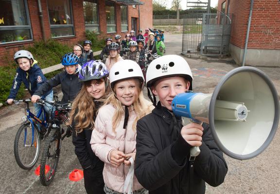 Elever anbefaler: Cyklister og gående skal have hver deres sti
