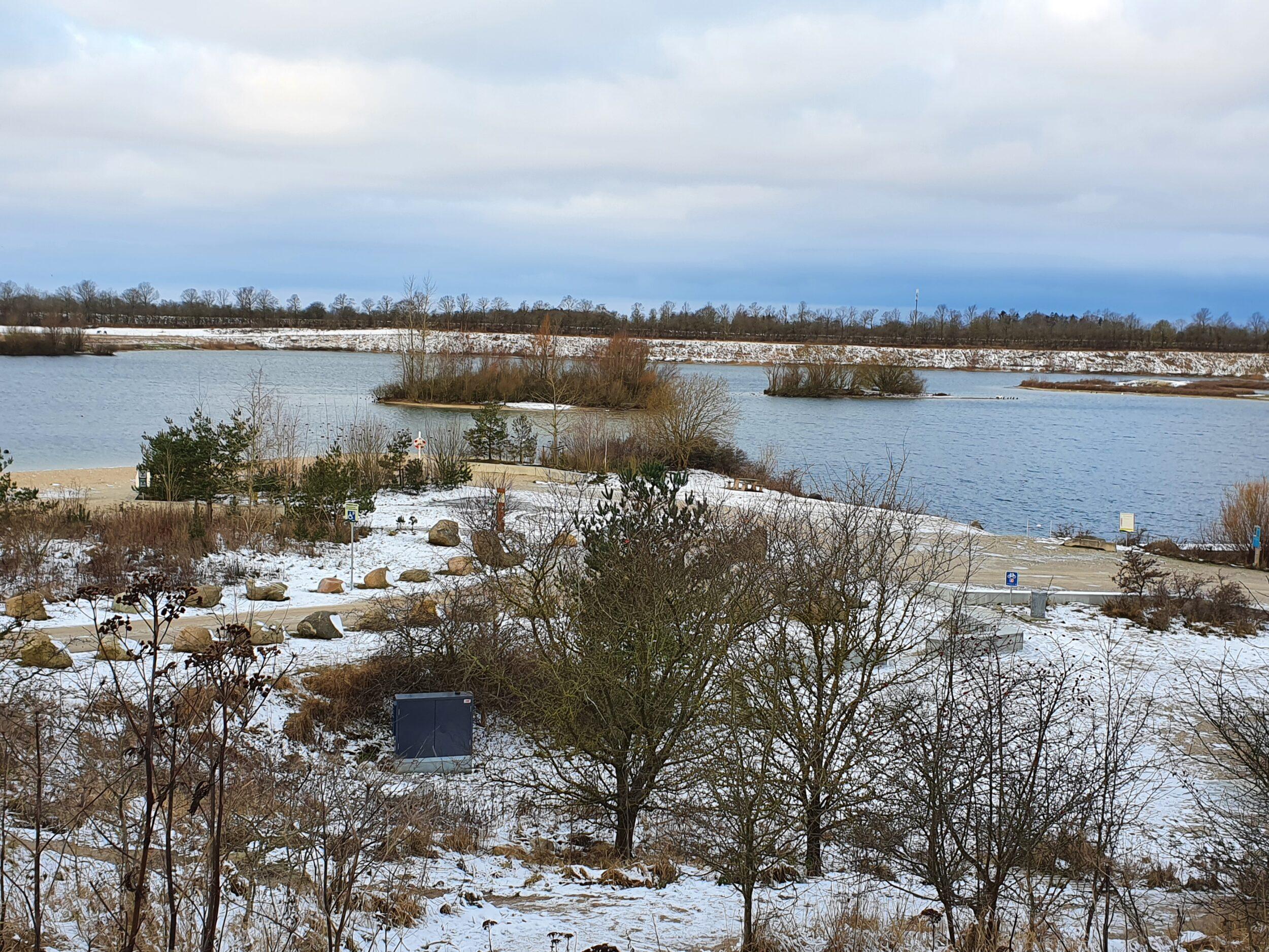Vintervejr ved Himmelsøen