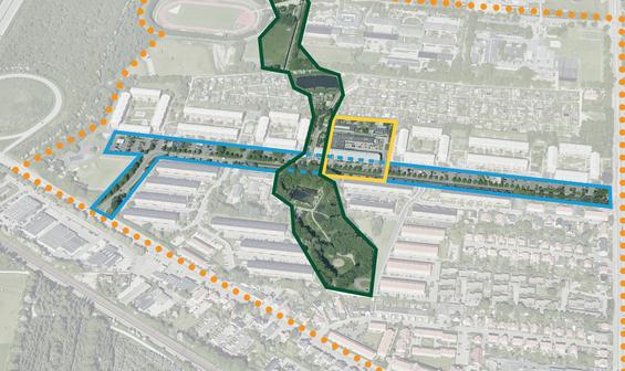 Tre arkitektteams skal komme med bud på fremtidens Roskilde Sydvest
