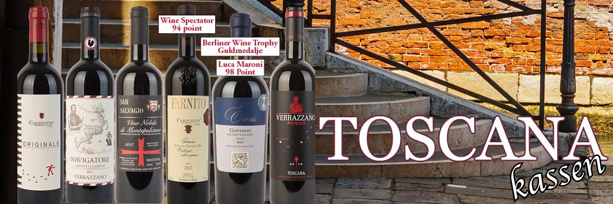Ny Toscanakasse ude nu