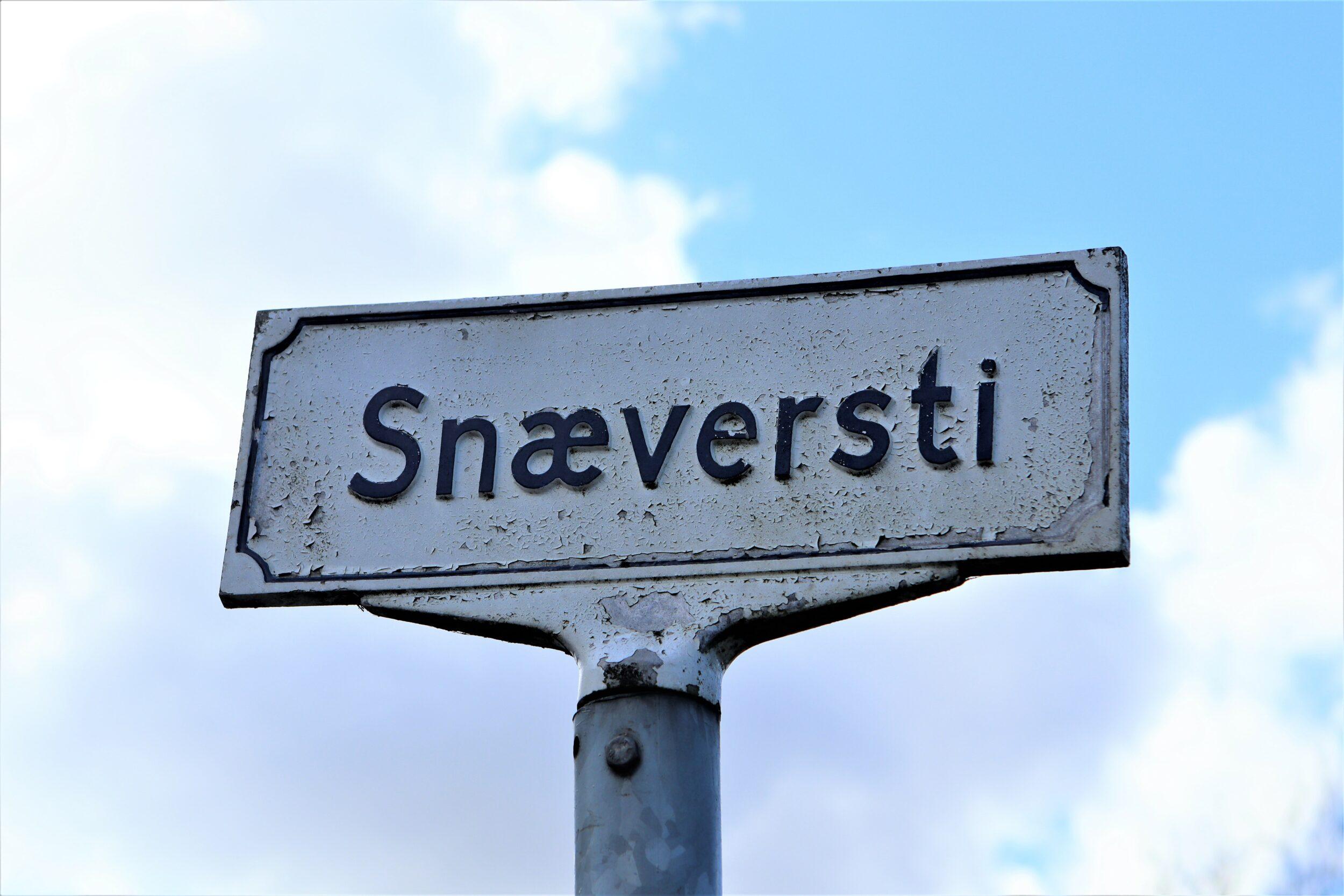 Tag på opdagelse i Snæversti