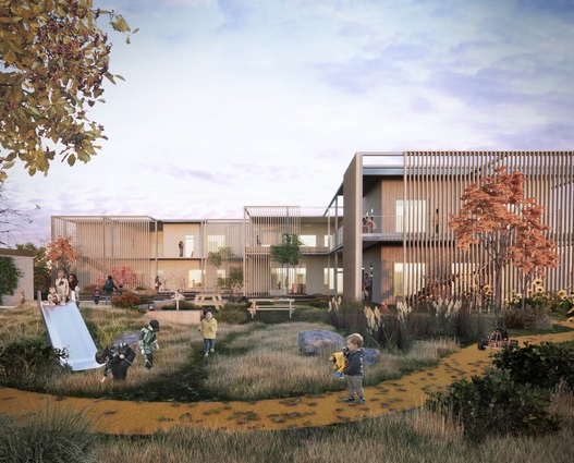 Nyt børnehus får fokus på indeklima og bæredygtighed