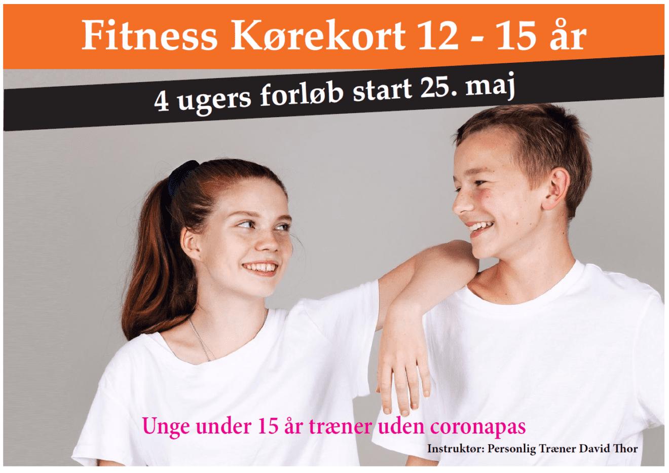 Fitness-kørekort til 12-15 årige i LifeClub
