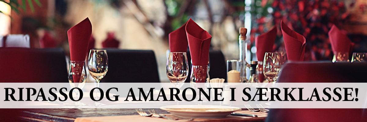 Ripasso og Amarone i særklasse!