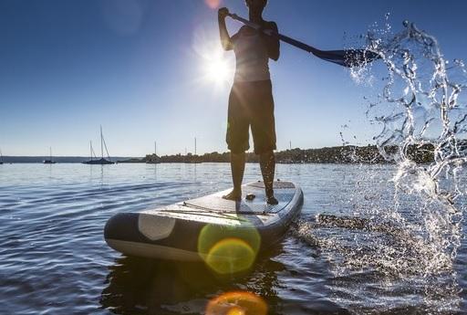 Sjov på SUP: Husk sikkerheden på vandet