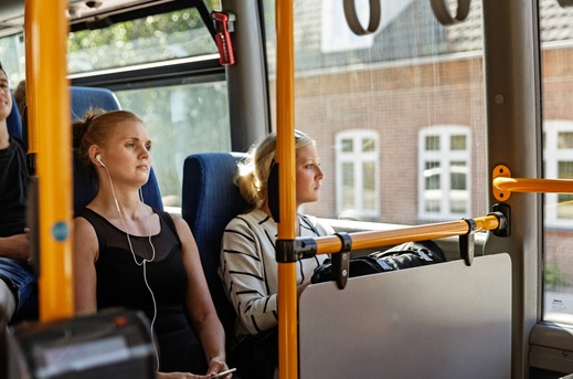 Lempede krav om mundbind i bus og tog