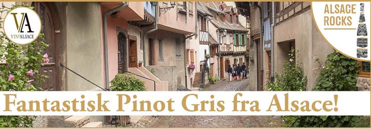 Fantastisk Pinot Gris fra Alsace