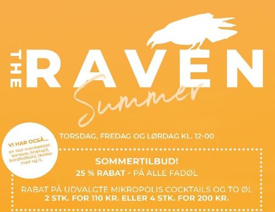 Sommeren starter på The Raven